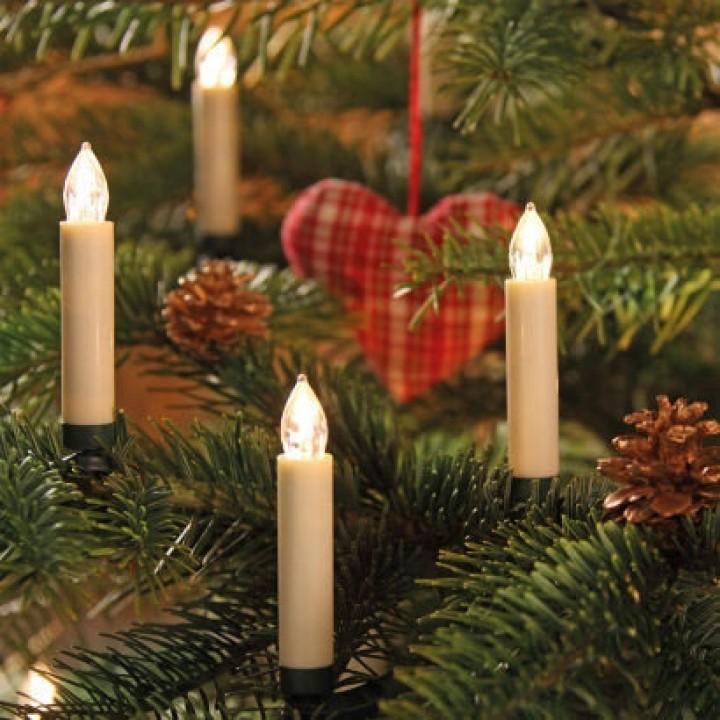Купить Гирлянда LED-Свечки 24 Лампы