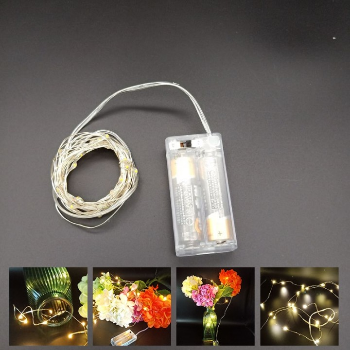 Купить Гирлянда LED-На батарейках 2М