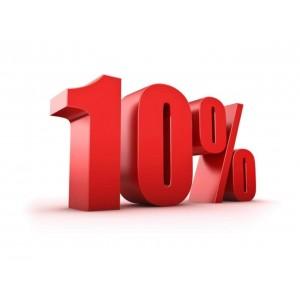 Скидка 10% на весь ассортимент!