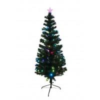 Оптоволоконная елка с диодами 120 см