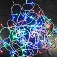 LED гирлянда с прозрачным проводом